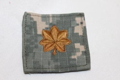 雑貨 ワッペン アメリカ陸軍/少佐(ACU) SP-12
