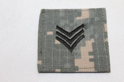 ☆ワッペン アメリカ陸軍三等軍曹(ACU) SP-19