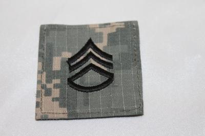 雑貨 ワッペン アメリカ陸軍 二等軍曹(ACU) SP-20