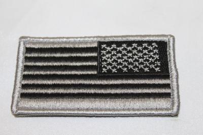 雑貨 ワッペン アメリカ軍 アメリカ星条旗右袖(FG)SP-53