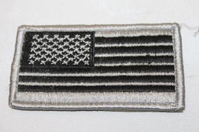 雑貨 ワッペン アメリカ軍 アメリカ星条旗左袖(FG)SP-54