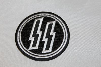 ★雑貨 ワッペン ナチス ドイツ 親衛隊章