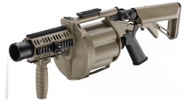 ICS-191 6連発型軍用リボルバー グレネード ランチャー MGL140モデル DE