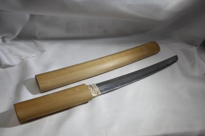 ★模造刀 白鞘短刀 白ザヤ 9寸 日本刀 katana