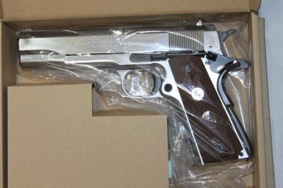★特価 マルシン M1911A1 ガバメント シルバーABS モデルガン