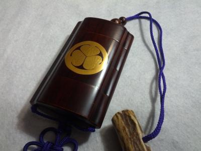 ★こだわりの逸品、縁起物 高級印籠 シガレットケース、煙草入れmade in JAPAN
