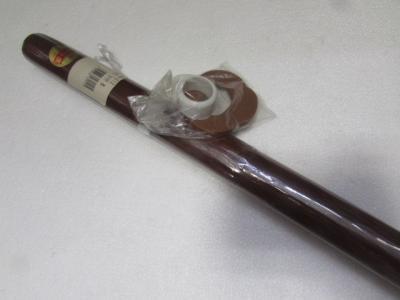 ★木刀DX 茶色 鍔付き 赤樫 樫の木 武器 武士 護身用品