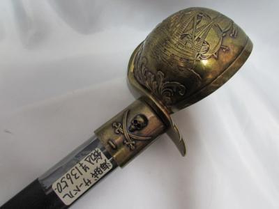 ★スペイン DENIX(デニックス) 海賊サーベル ゴールド 16世紀モデル 4143/L