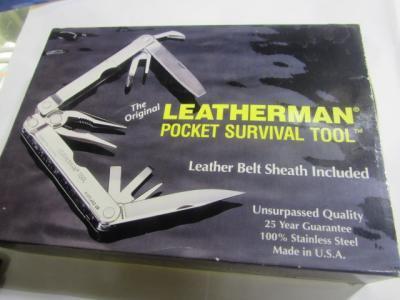 ★LEATHERMAN ツールナイフ レーザーマン キャンプ クリッパー サバイバルツール 特価