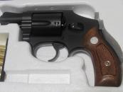 ★タナカ モデルガン S&W M40 Centennial(センチニアル) 2インチ HW Jフレームリボルバー 発火式 040