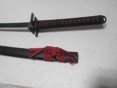 ★模造刀 美術刀剣 闇霞 YAMIKASUMI チョイ傷