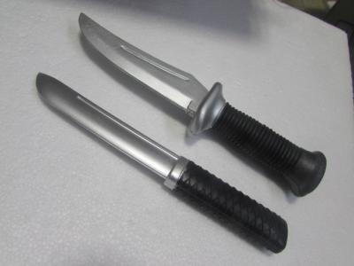 ★ラバーナイフ、ラバー短刀 2本セット