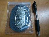 ★バッジ ナチスドイツ 従軍シルト章 ナルビクシールド レプリカ NO.B42