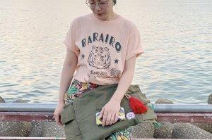 乙女タイガーTシャツ(白のみ)
