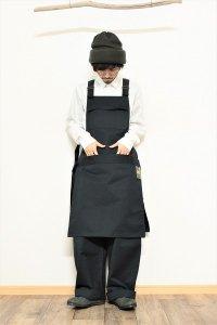 ASEEDONCLOUD HW apron チャコール ユニセックス