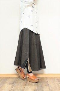 TENNE handcrafted modern 4枚スカートロング ブラック/ベージュ/ネイビー/ホワイト