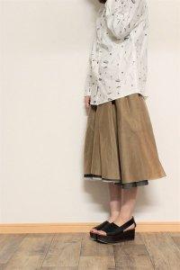 TENNE handcrafted modern 4枚スカート ブラック/ベージュ/ネイビー/ホワイト