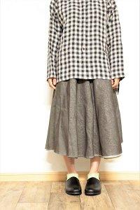 TENNE handcrafted modern 4枚スカート ネイビー/イエロー/ラベンダー/チャコール