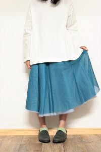 TENNE handcrafted modern 4枚スカート ベージュ/グレー/ブルーグリーン/サックス