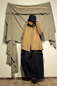ASEEDONCLOUD トグルショートコート/Peasant coat ベージュ ユニセックス