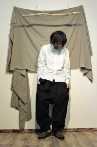 15jyugo 丸ポケシャツ ホワイト ユニセックス