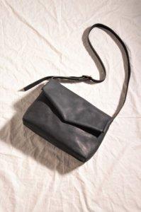 ohta black letter bag/手紙鞄 ブラック ユニセックス