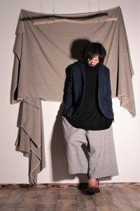 yohaku 良い感じのジャケット インディゴ ユニセックス