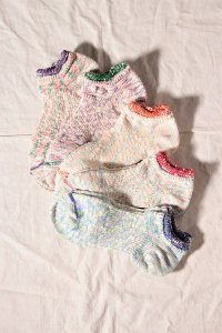 mauna kea 2段切り替えネップの靴下その2(5色展開) ユニセックス