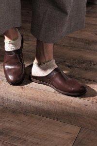 AUTTAA 別注ルームシューズ�/room shoes� ダークブラウン ユニセックス