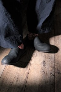 AUTTAA 別注ルームシューズ/room shoes ブラック ユニセックス