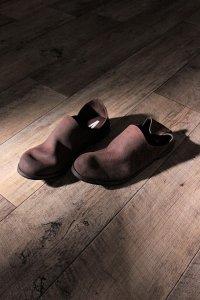 AUTTAA 別注ルームシューズ/room shoes ダークブラウン ユニセックス