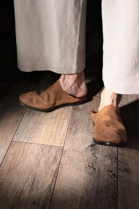 AUTTAA 別注ルームシューズ/room shoes ブラウン ユニセックス