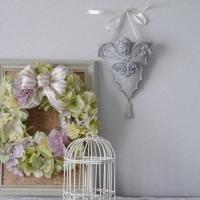 かわいい天使の壁掛けプランター