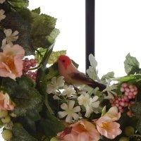 森のお友達 鮮やかな小鳥ちゃん