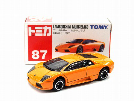 Lamborghini Murcielago Orange 1 62tomy 87 Gallery Tanaka Shopping Site