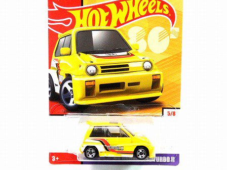 HONDA CITY TURBO II 1985 Yellow HotWheels 2019 - Gallery Tanaka Shopping  Site