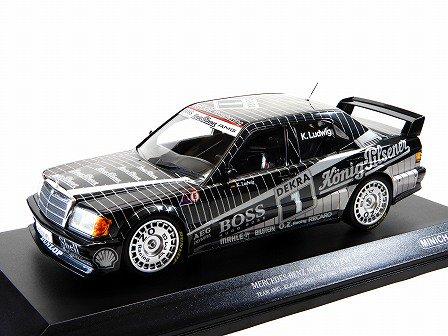 Mercedes Benz 190E 2.5-16 EVO1 DTM 1989 Ludwig AMG #1 1:18 Minichamps