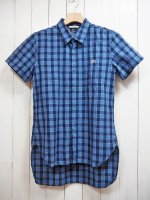 <img class='new_mark_img1' src='//img.shop-pro.jp/img/new/icons41.gif' style='border:none;display:inline;margin:0px;padding:0px;width:auto;' />【Burnout】COTTON LINEN S/S LONG SHIRT B