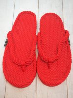 <img class='new_mark_img1' src='//img.shop-pro.jp/img/new/icons41.gif' style='border:none;display:inline;margin:0px;padding:0px;width:auto;' />【GURKEE'S】ROPE SANDALS TABAGO(RED)