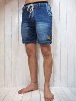 【Burnout】INDIGO SWEAT SHORT PANTS(INDIGO)