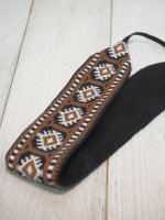 【WOVENFREE】CHESTNUT PILLAR HEADBAND