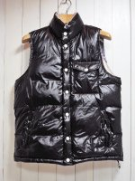 <img class='new_mark_img1' src='https://img.shop-pro.jp/img/new/icons41.gif' style='border:none;display:inline;margin:0px;padding:0px;width:auto;' />70%OFF【Burnout】RV DOWN VEST(BLACK)