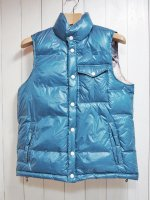 <img class='new_mark_img1' src='https://img.shop-pro.jp/img/new/icons41.gif' style='border:none;display:inline;margin:0px;padding:0px;width:auto;' />【Burnout】RV DOWN VEST(TURQUOISE)