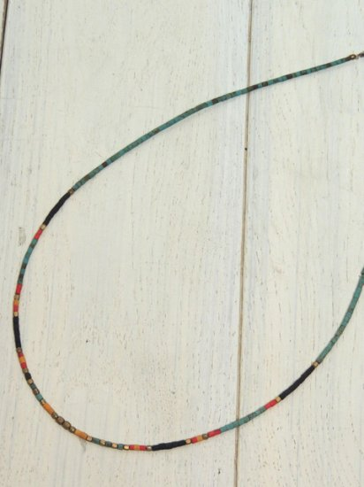 【Special】AFGHAN BEADS NECKLACE(TURQUOISE)