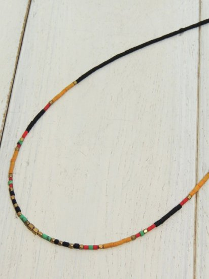 【Special】AFGHAN BEADS NECKLACE(BLACK)