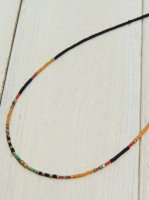 <img class='new_mark_img1' src='https://img.shop-pro.jp/img/new/icons41.gif' style='border:none;display:inline;margin:0px;padding:0px;width:auto;' />【Special】AFGHAN BEADS NECKLACE(BLACK)