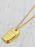 ☆予約商品 【amp japan】999.9 STAY GOLD NECKLACE