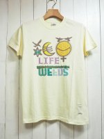 【ARIGATO FAKKYU】雑草 LIFE-WEEDS T-SHIRT(NATURAL)