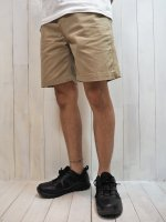<img class='new_mark_img1' src='//img.shop-pro.jp/img/new/icons41.gif' style='border:none;display:inline;margin:0px;padding:0px;width:auto;' />【Magine】CTN SERGE WASHED BASIC SHORTS(BEIGE)