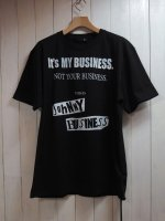 <img class='new_mark_img1' src='//img.shop-pro.jp/img/new/icons16.gif' style='border:none;display:inline;margin:0px;padding:0px;width:auto;' />【JOHNNY BUSINESS】It's My Business T-SHIRT(BLACK)